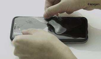 عکسمحافظ صفحه نمایش تلفن هوشمند SPIGEN مدل SAMSUNG GALAXY NOTE 9
